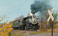 Postcard Railroad Black River & Western Railroad Flemington Ringoes NJ