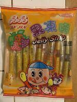 Jin Jin - Jelly Strip (Fruit Jelly Filled Straws Assorted Flavor) TikTok Tik Tok