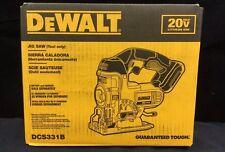 New Dewalt DCS331 20 Volt Max Lithium-Ion Cordless Jig Saw (Tool-Only)  DCS331B