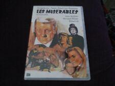 "DVD NF ""LOS (LES) MISERABLES"" Jean GABIN Bernard BLIER Bourvil / import Espagnol"