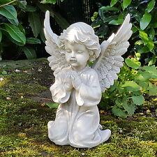 Eden Engel Garten Dekofigur Engelsfigur Cherubim Statue Engels Skulptur Grabdeko