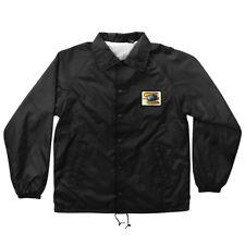 Santa Cruz Corey O'Brien Reaper Patch Coach Windbreaker Jacket Black Xxl