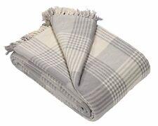 EHC Premium Reversible 100% Algodón King Size 225 X 250cm Tartan mantas Para Sofá
