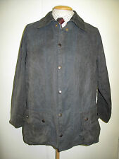 """Barbour Beaufort  Waxed jacket - L 42"""" Euro 52 in Blue"""