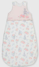 TU Peter Rabbit Sleep Bag Pink Girls 12-18 Months 1.5 Tog