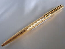 Dunhill New Gemline Ball Point Pen Gold Plated