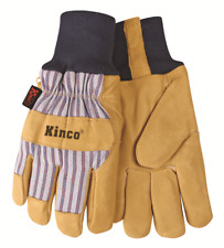 Kinco 1927KW Grain Pigskin Leather Palm Winter Gloves W/HeatKeep Lining Med - XL