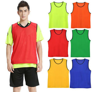 Child Training Scrimmage Soccer Team Football Vest Fitness Shirt Single
