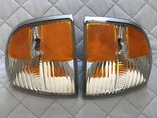 Ford Explorer 2002 - 2005 LEFT & RIGHT Corner Park Light 44ZH-1460A OEM Used