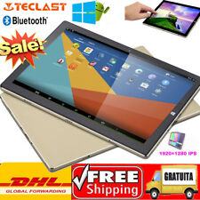 4GB+64GB BT 2 in 1 Ultrabook Tablet PC 10.1'' Windows10+Android5.1 QuadCore HDMI