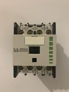 Klockner Molleller DIL00M-10 110V 50Hz, 120V 60Hz, Contactor