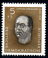 752 postfrisch DDR Briefmarke Stamp East Germany GDR Year Jahrgang 1960