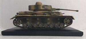 2006 New Millennium Toys 1/48 Diecast German PANZER IV H TANK WWII 21st Century