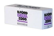 2 X ILFORD Delta 3200 Cheap 120 Roll B&w Camera Film by 1st Class Post