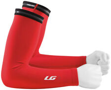 Louis Garneau Bicycle Bike Cycling Arm Warmers 2 Red - XS