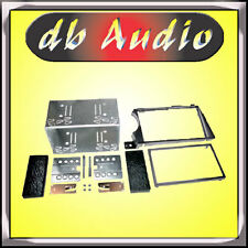 DBA Mascherina Doppio 2 DIN Autoradio SSangYong Kyron Adattatore Cornice Radio