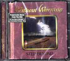 WITHOUT WARNING    Step beyond     (CD New)