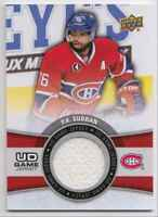 2019-20 Upper Deck Game Jerseys P.K Subban Jersey 1 Color #GJ-PK