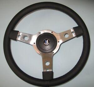 "New 14"" Vinyl Wrapped Steering Wheel & Hub Adaptor Triumph TR7 TR8 1977-1980"