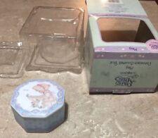 Precious Moments May Porcelain Covered Box