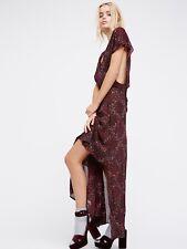 NWT Free People  Women's Purple Livia Maxi Dress XS $228