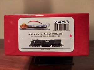 Broadway Limited Imports HO Scale DCC Equipped Norfolk & Western C30-7 No. 8036