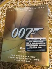 James Bond 007 Blu-ray Vol 2-For Your Eyes Only/Thunderball/From Russia w/Love