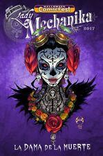 Halloween Comicfest Hcf 2017 Lady Mechanika Muerte Giveaway Promo Nm