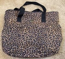 Ricardo Beverly Hills Animal Print Nylon Fold Within Bag Shoulder Tote Bag NEW