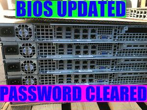 1U Supermicro Server 6x 10GBE E3-1270 V3 32GB RAM X10SLH-LN6TF X10SLH-N6-ST031