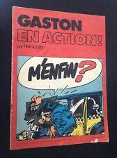 Album Pub Chevron Gaston en action  EO BON ETAT  Lagaffe