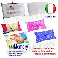 cuscino memory PERSONALIZZATO con tue foto guanciale memory foam made in italy