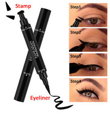 Winged Eyeliner Stamp Waterproof Makeup Cosmetic Eye Liner Pencil Black Liquid A