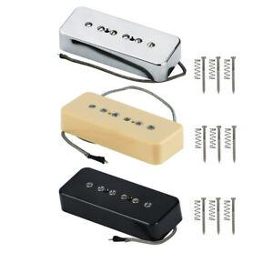 Alnico 5 SG LP Style Guitar Pickup P90 Soapbar Neck or Bridge Pickup Single Coil