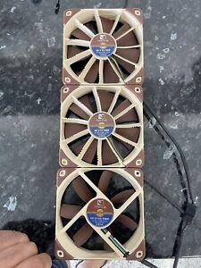 Noctua 120mm Cooling Fan Excellent Quiet Silent x3