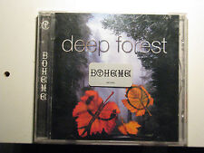 Boheme by Deep Forest CD 1995 Sony Music Distribution Dance Electronica Ambient