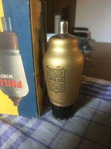 Valvola Philips WE33 miniwatt dorata nos rimanenza di magazzino