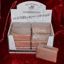 Pre de Provence PATCHOULI Case 12 x 250 Gram French Soap Bath Shower Bars Shea