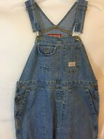 Union Bay Vintage Womens Overalls Size Large Denim Carpenter 100% Cotton 1990s