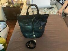 Michael Kors Large Kingsbury Leather UNISEX Bucket Tote Crossbody Sling Bag