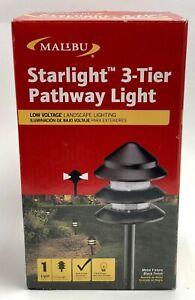 (1) Malibu 8301-9202-01 Metal 3 Tier Pathway Pagoda Light 7W Landscape HG49