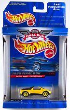 Vtg 1999 Hot Wheels Final Run Pontiac Salsa Die Cast Car