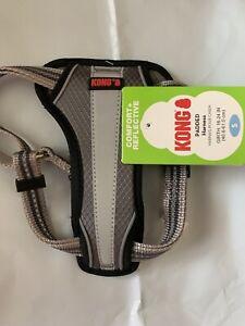 KONG Comfort Reflective Dog Harness Gray Size Small NEW!