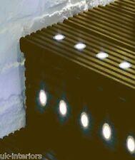 LED Lighting Midi Kit 10x 30mm Warm White Round - Decking Kitchen Bathroom Light