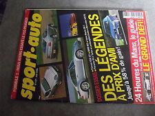 $$q Revue sport auto N°437 24h du Mans  Ferrari 456 GT  Porsche 911  BMW M3