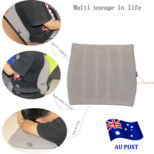 Inflatable Lumbar Support Pillow Air Waist Support Cushion for Back Pain Relief