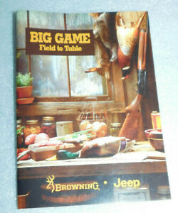 Big Game Field Table Browning Jeep Field Dress Wild Preserve Hide Butcher Camp