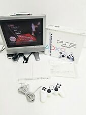 Sony Playstation 2 Ceramic White Slim SCPH-77000 Console 553 Japan Import