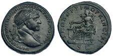 16. Trajan 112-114 AD Sestertius 23.36g 30mm RIC 515 Roman imperial coin