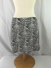 EXPRESS Brand Zebra Animal Print Skirt - Size S - EUC!